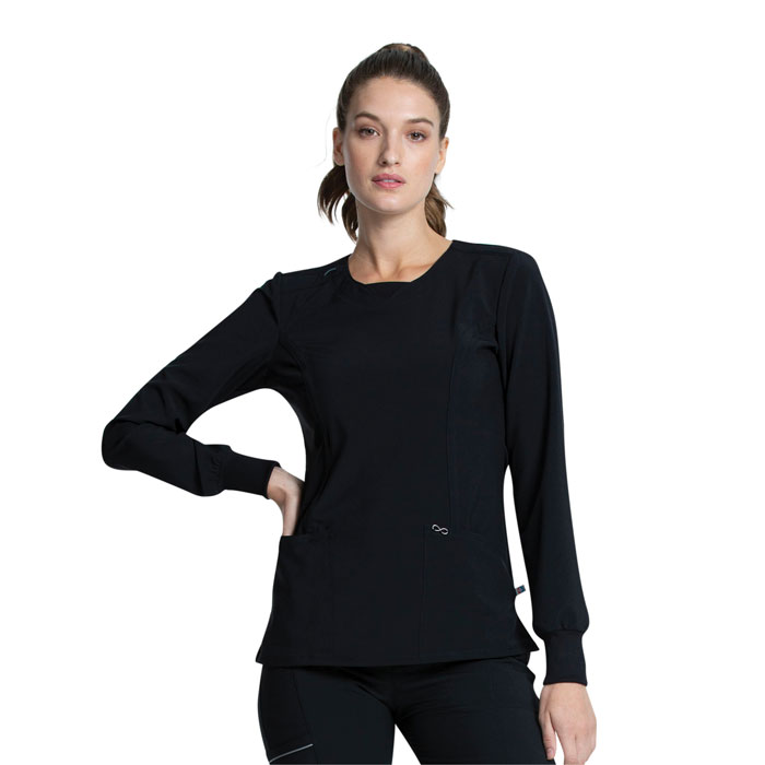 Infinity-by-Cherokee-CK781A-Long-Sleeve-V-Neck-Top