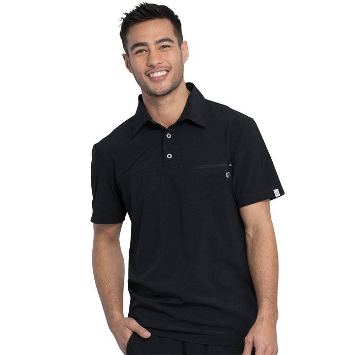 Infinity-by-Cherokee-CK825A-Mens-Polo-Shirt
