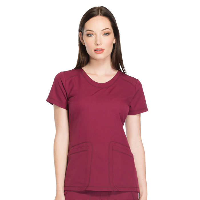 Dickies-Dynamix-DK720-Rounded-V-Neck-Top