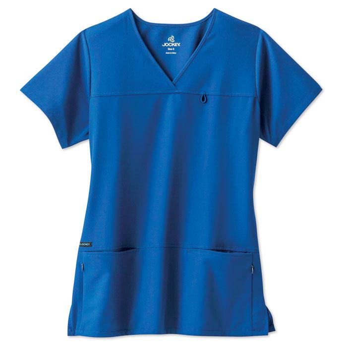 jockey-womens-highcross-v-neck-tri-blend-scrub-top