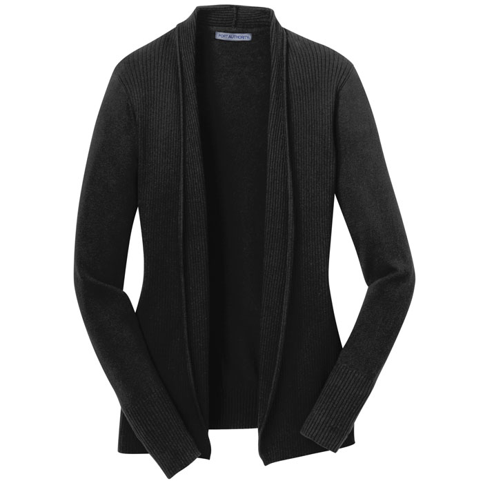 Port-Authority-LSW289-Ladies-Open-Front-Cardigan-Sweater