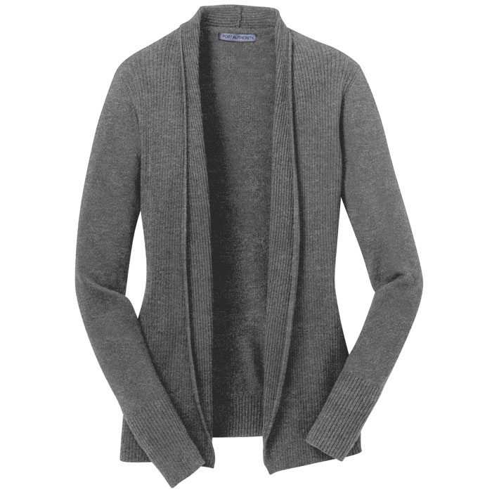 Port-Authority-LSW289-Ladies-Open-Front-Cardigan-Sweater
