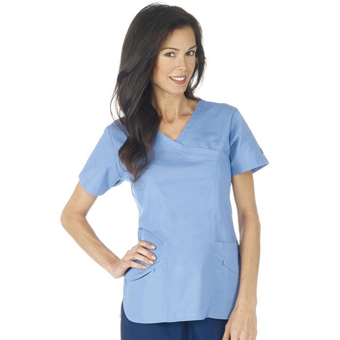 F3 Fundamentals - 14371 - Smiley Pocket Scrub Top