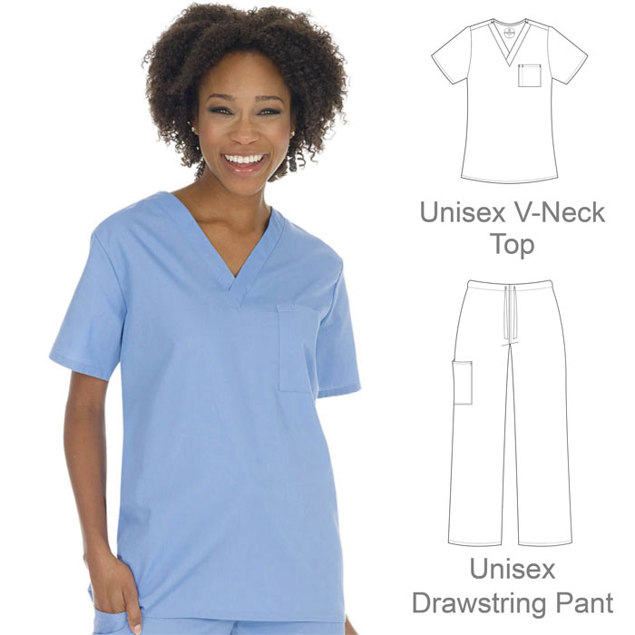 F3-Fundamentals-14900-14920-Unisex-V-Neck-Top-and-Pant-Set