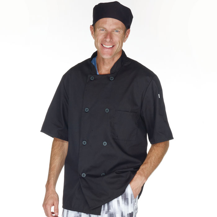 Five-Star-18001-015-Short-Sleeve-Chef-Jacket