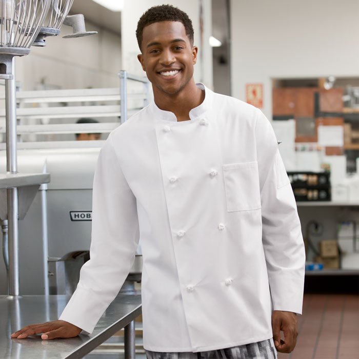 Five-Star-18016-011-8-Knot-Button-Chef-Coat