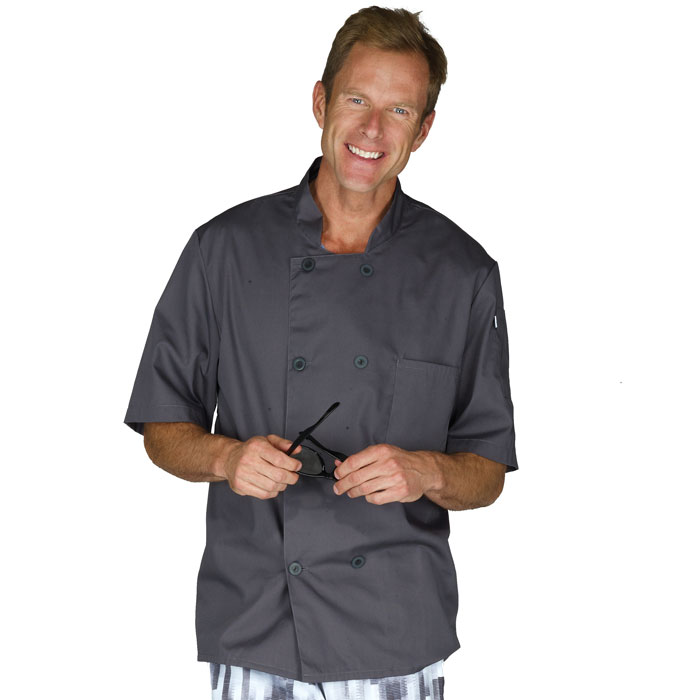 Five-Star-18025-1040-Short-Sleeve-Chef-Jacket