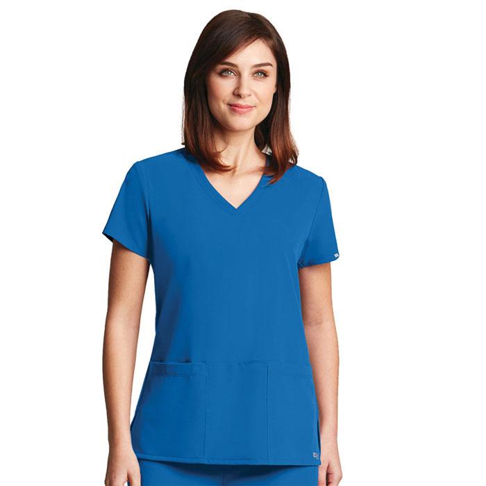 Greys-Anatomy-Signature-2115-3-Pocket-Criss-Cross-V-Neck-Scrub-Top