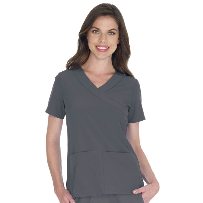Scrubfinity-Performx-2987-Two-Pocket-Mock-Wrap-Top