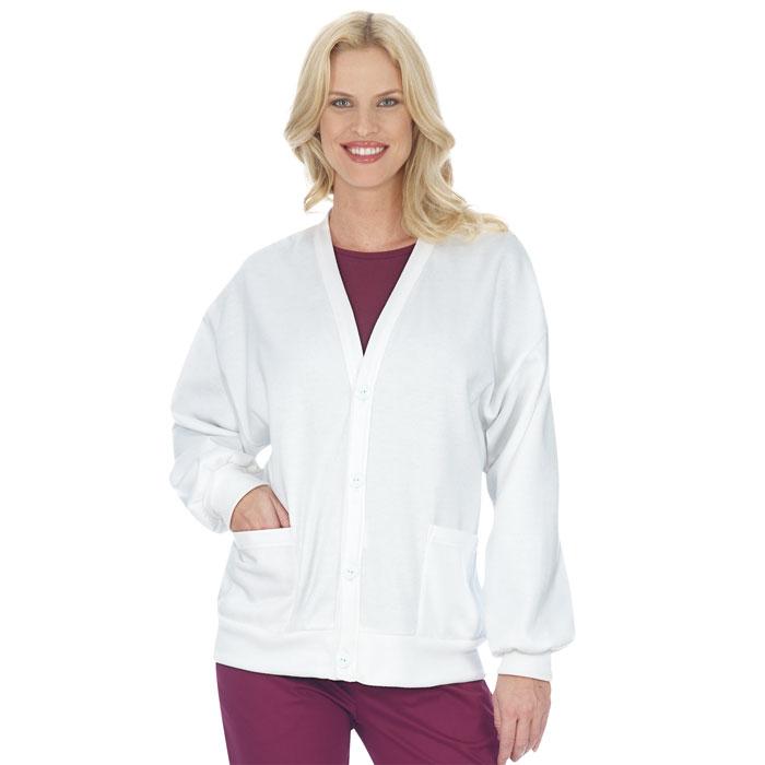 4500-WH-Fleece-Cardigan-Ladies-Jacket-Fleece