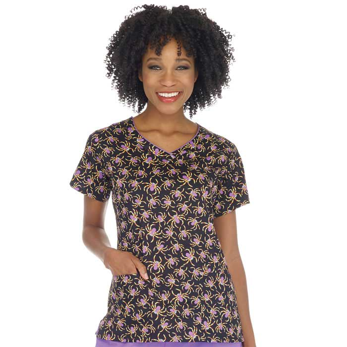 bio---bring-it-on-5218-3225-Contrast-Edged-V-Neck-Scrub-Top-Eek