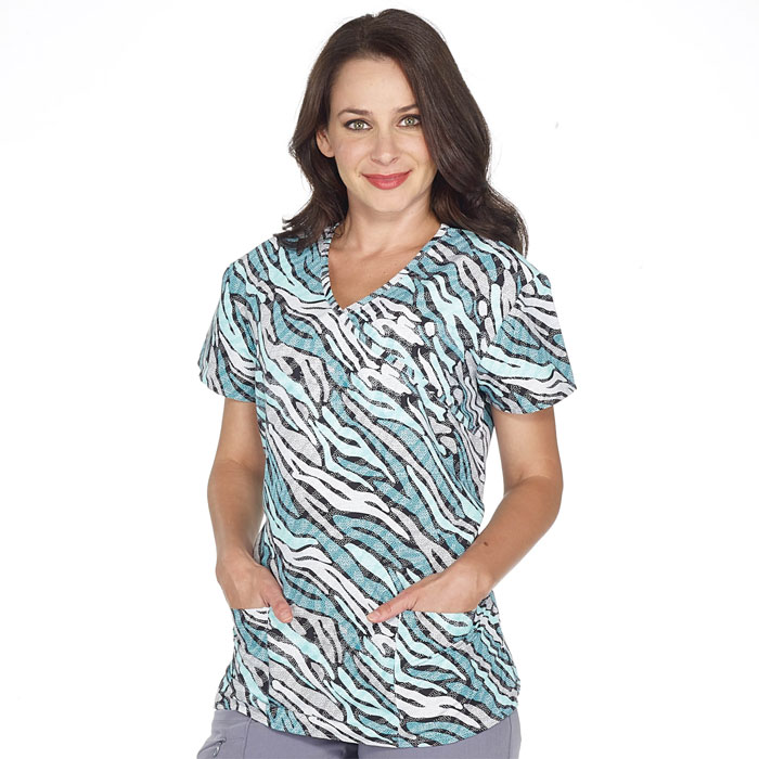 9100-1848M-Ladies-Mock-Wrap-Top-CASCADE