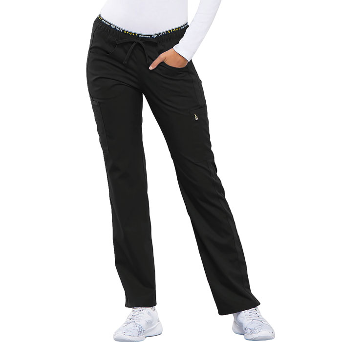 Cherokee-Luxe-CK003-Mid-Rise-Straight-Leg-Pull-on-Pant