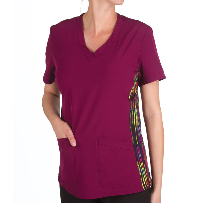 Scrubin-Special-108-V-Neck-Stretch-Panel-Scrub-Top