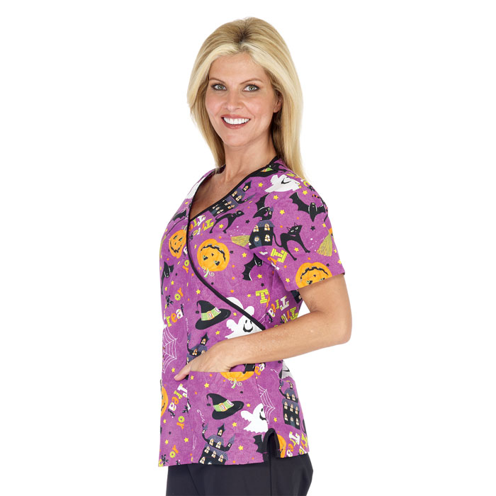 coordinating colors - Halloween Scrubs Uniforms
