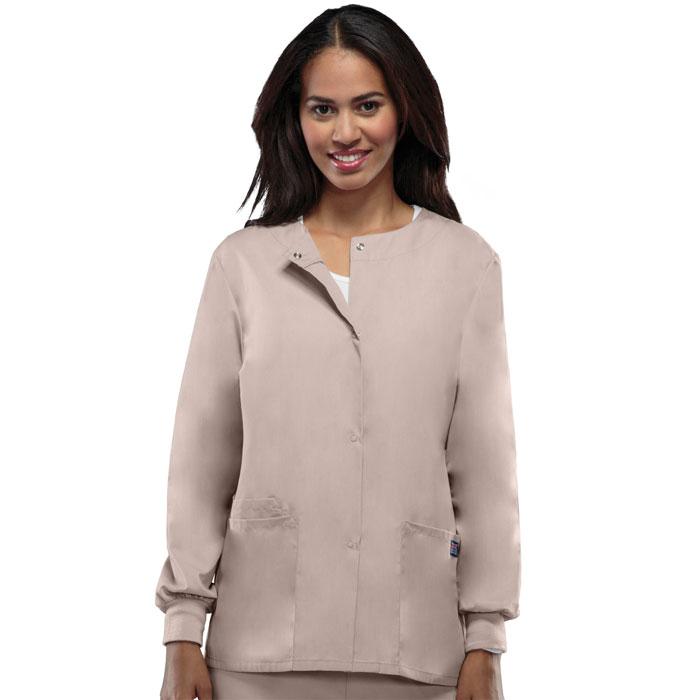 ee2334b892b Cherokee Workwear - Snap Front Warm-Up Jacket