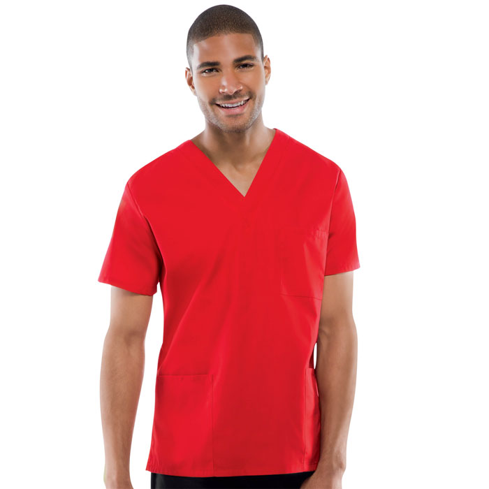 Cherokee Workwear,  4876, Unisex V-Neck Top