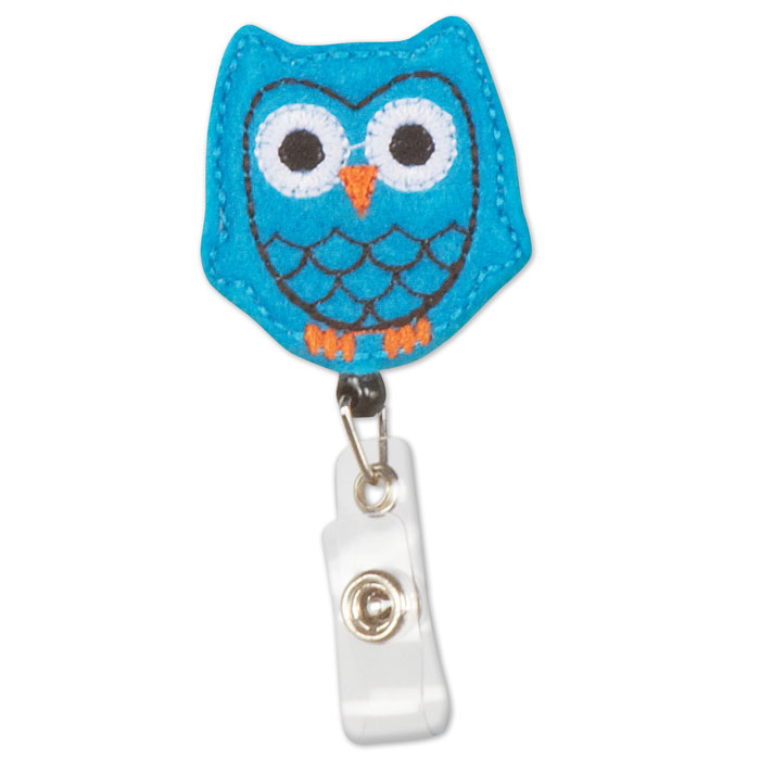 OWL-1083-ID-Badge-Holder-Blue-Owl