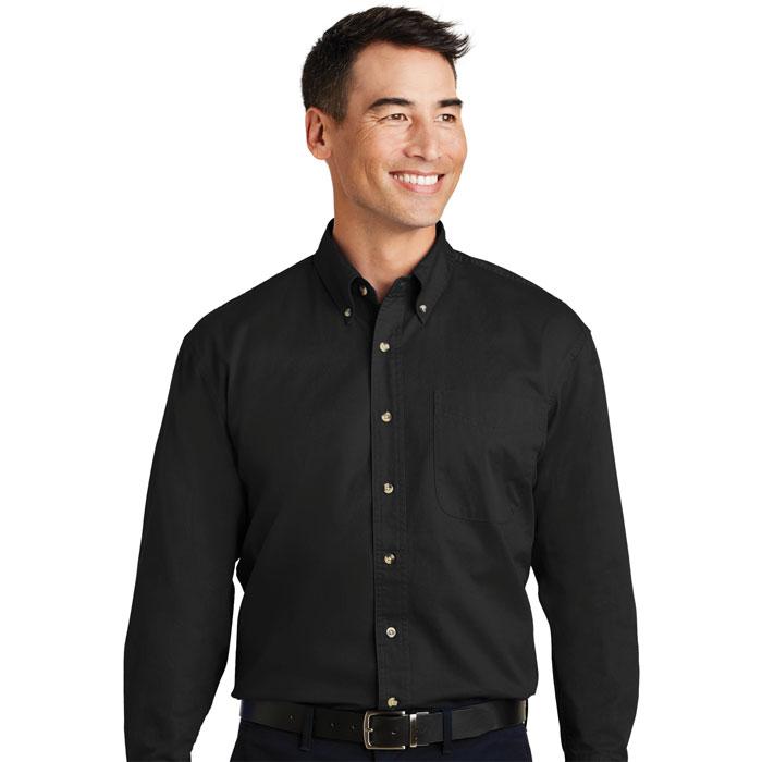 Port-Authority-S600T-Mens-Long-Sleeve-Twill-Shirt
