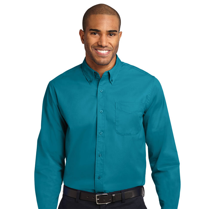 Port-Authority-TLS608-Mens-Tall-Long-Sleeve-Easy-Care-Shirt