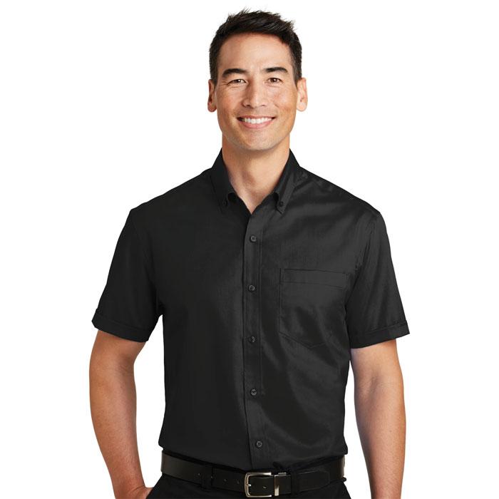 Port-Authority-S664-Mens-Short-Sleeve-SuperPro-Twill-Shirt