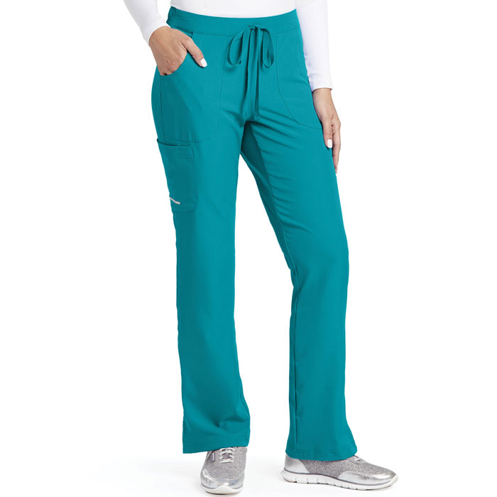 Skechers-SK201-Womens-Reliance-Drawstring-Cargo-Pant