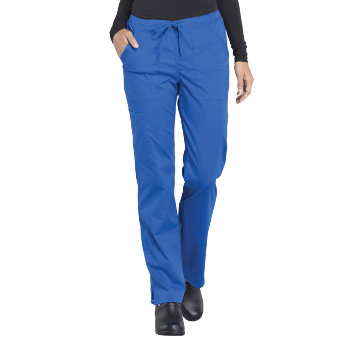 Cherokee-Professionals-WW160-Mid-Rise-Straight-Drawstring-Pant-