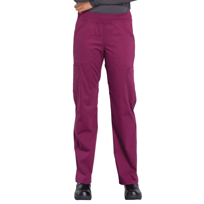 Cherokee-Professionals-WW170-Mid-Rise-Straight-Leg-Pull-on-Cargo-Pant