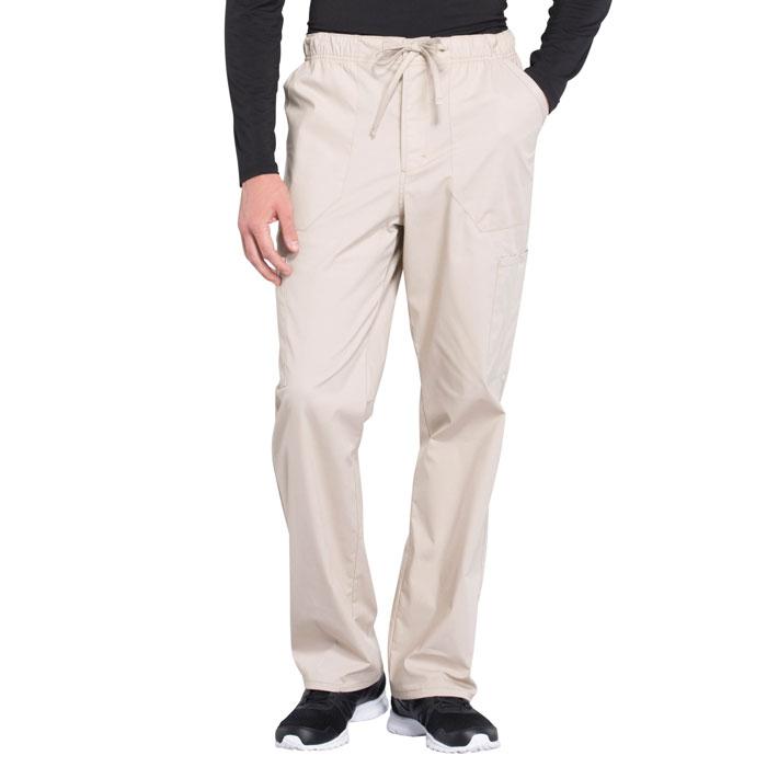 Cherokee-Professionals-WW190-Men's-Tapered-Leg-Drawstring-Cargo-Pant