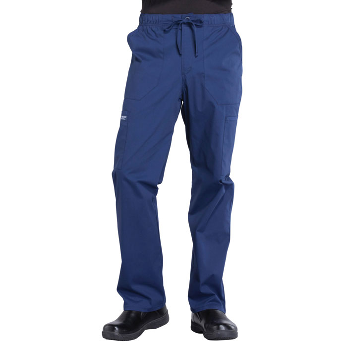 Cherokee-Professionals-WW190-Men's-Tapered-Leg-Drawstring-Cargo-Pant