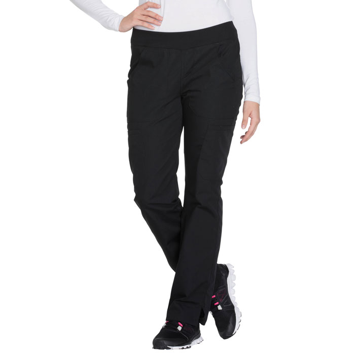 Cherokee-Workwear-WW210-Mid-Rise-Pull-on-Cargo-Pant