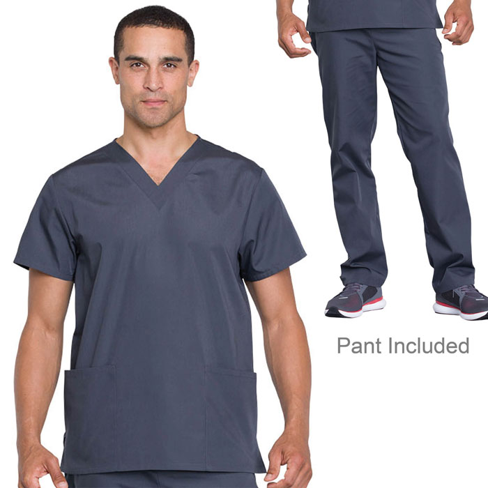 Cherokee-Workwear-WW530C-Unisex-Top-And-Pant-Set