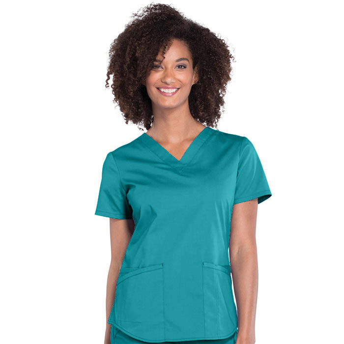Cherokee-Workwear-Professionals-WW665-V-Neck-Top