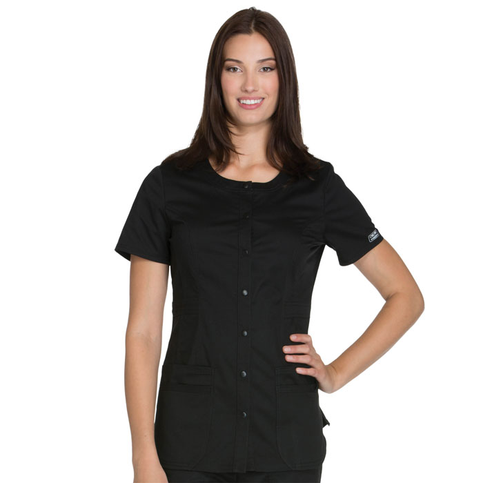 Cherokee-Core-Stretch-WW683-Round-Neck-Top