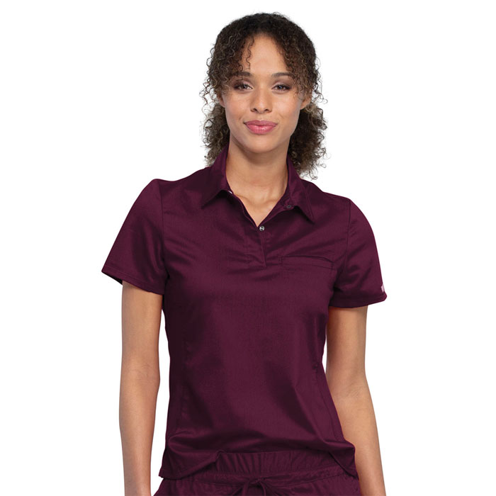 Workwear-Revolution-Ladies-Snap-Front-Polo-WW698