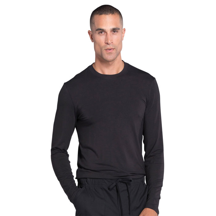 Cherokee-Professionals-WW700-Men's-Underscrub-Knit-Top