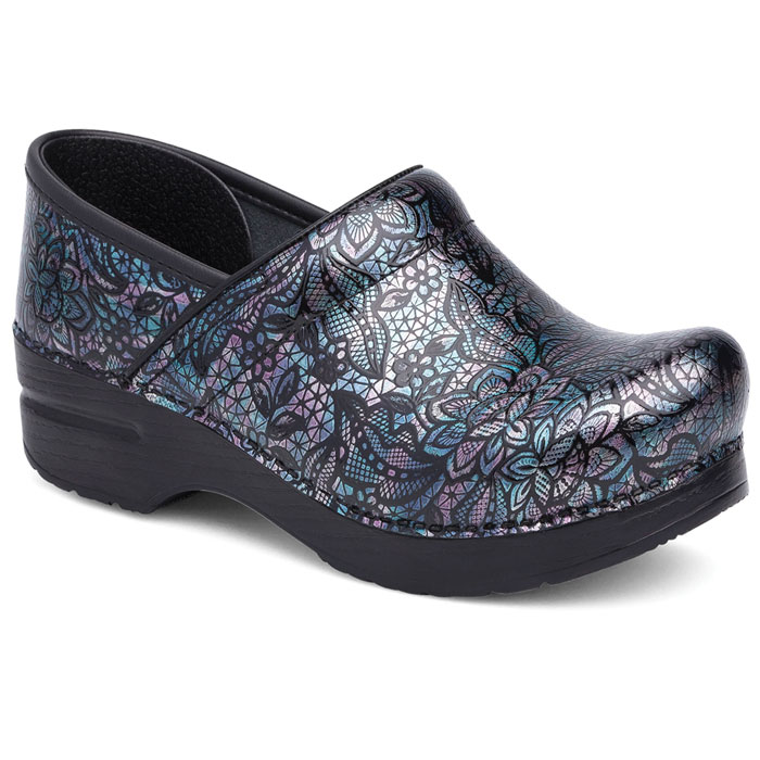 Dansko-Professional-406-870202-Henna-Floral--Patent-Leather