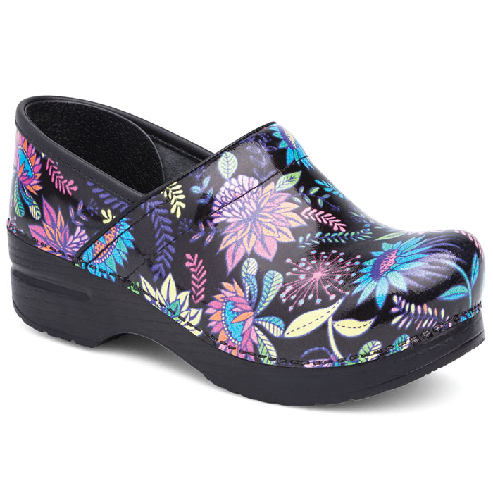 Dansko-Professional-606-920202-Wildflower-Patent-Leather