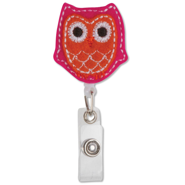 OWL-58-ID-Badge-Holder-Owl