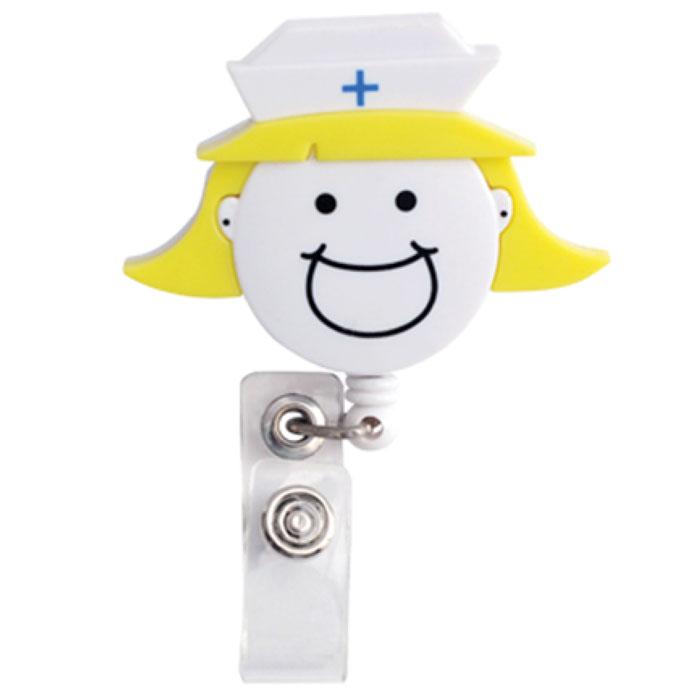 Scrub-Stuff-102643-Fun-Nurse-Head-Retractable-