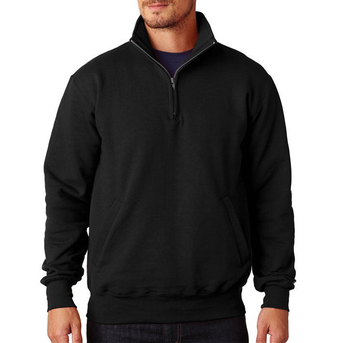 Champion-S400-Adult-9-oz.-Double-Dry-Eco®-Quarter-Zip-Pullover