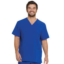 Details about  /Grey Dickies Scrubs EDS Essentials Mens V Neck Top DK635 GRY