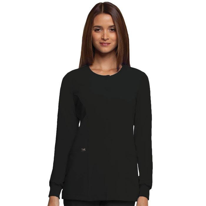 Greys-Anatomy-2407-Womens-Signature-Round-Neck-Warm-Up-Jacket
